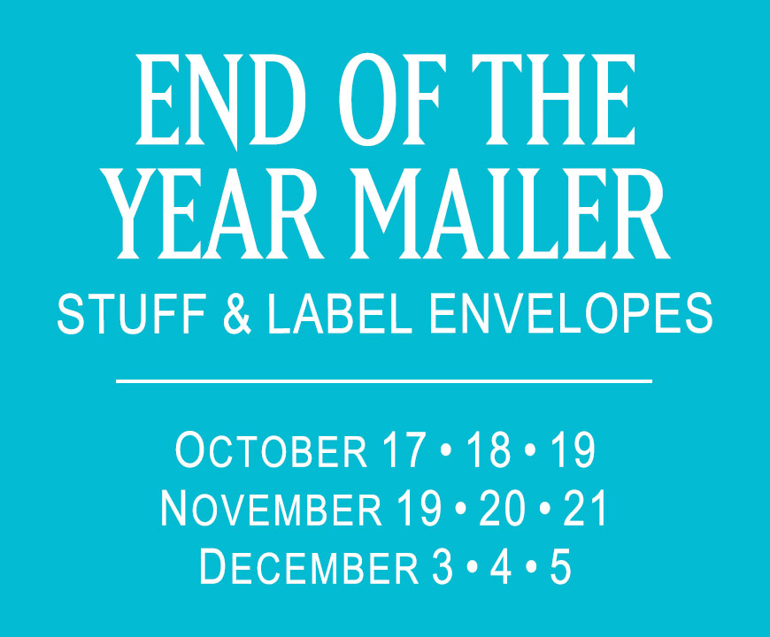 End of the Year Mailer - 2018