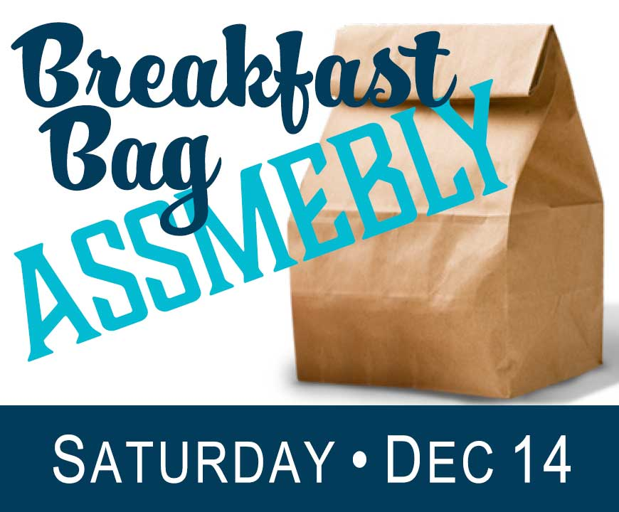 Assemble Breakfast Bags - December 2018