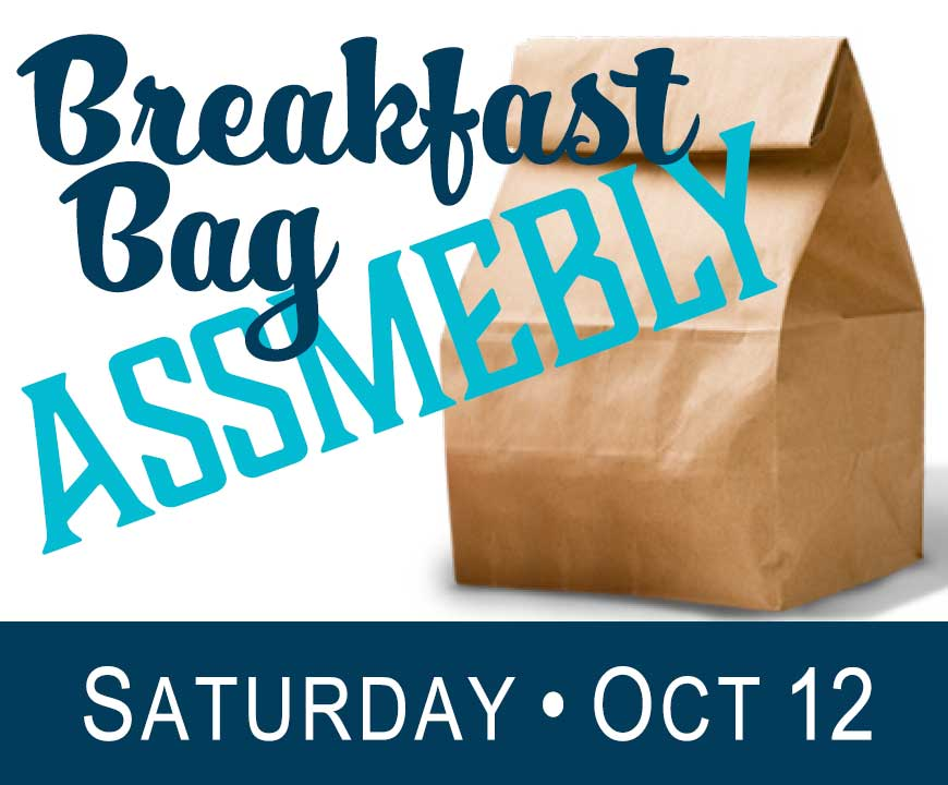 Assemble Breakfast Bags - October 2018