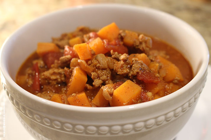 The Kitchen Diary – Sweet Potato Chili