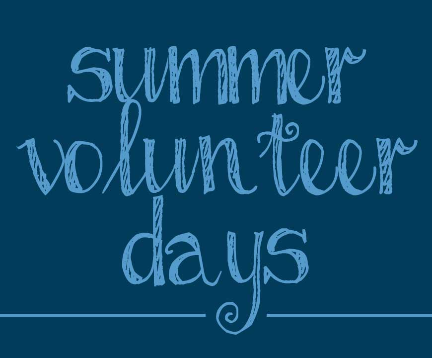 Summer Volunteer Days