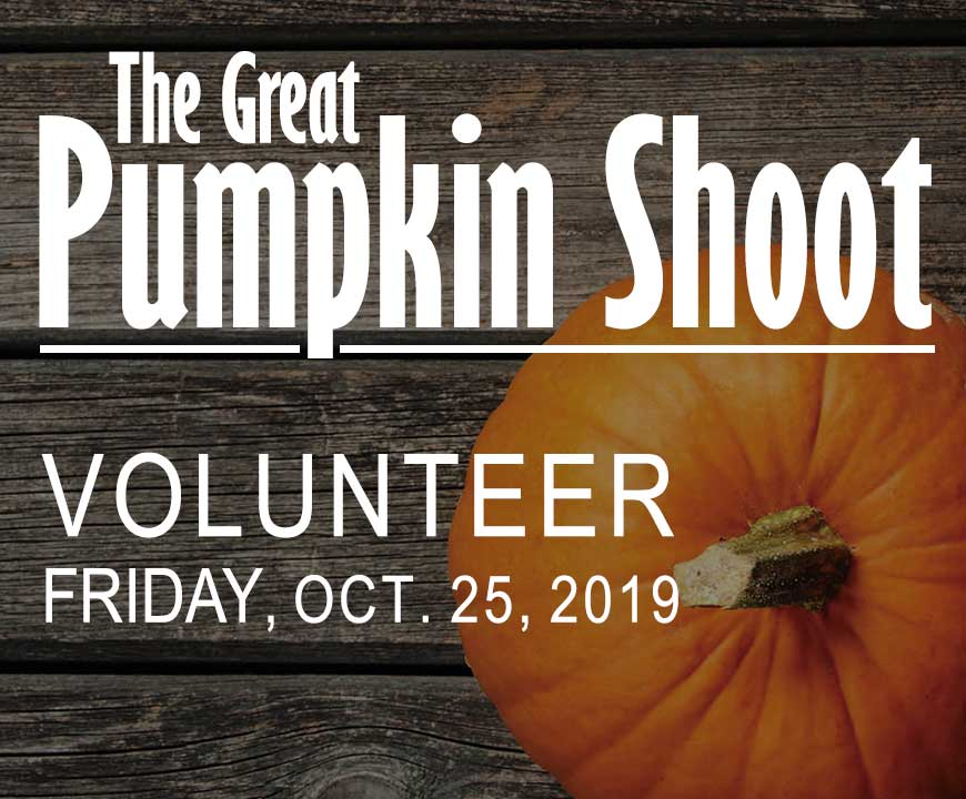The Great Pumpkin Shoot - Volunteer