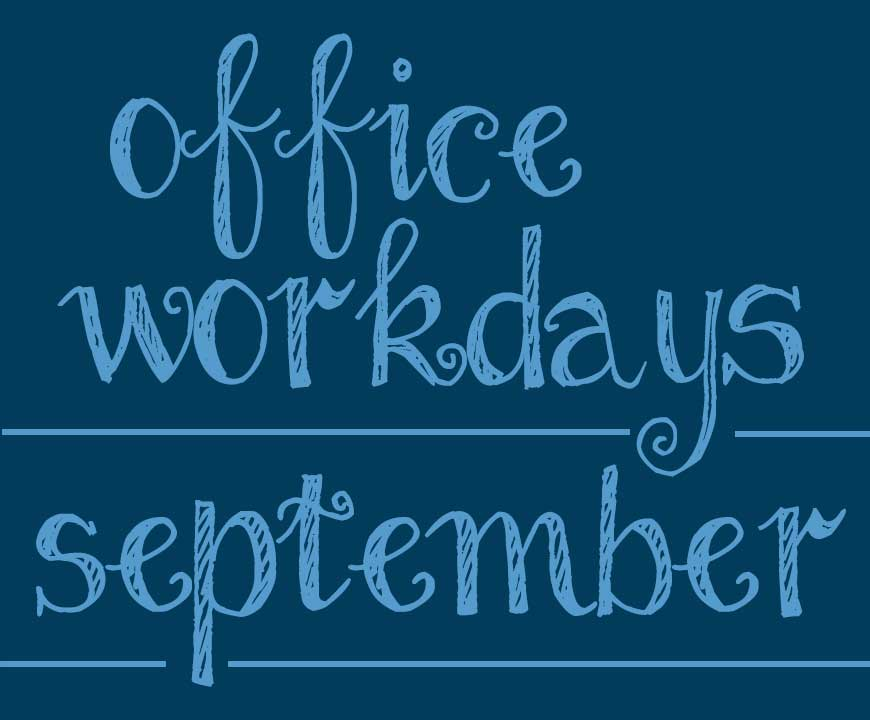 September WorkDays