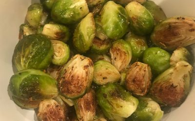 The Kitchen Diary – Roasted Brussels Sprouts