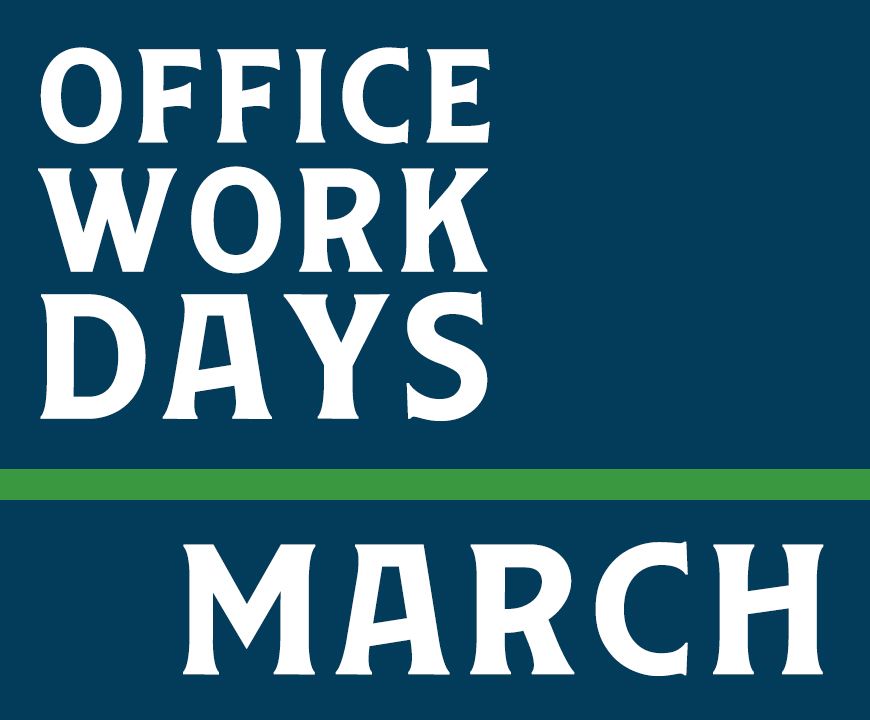 March WorkDays 2020